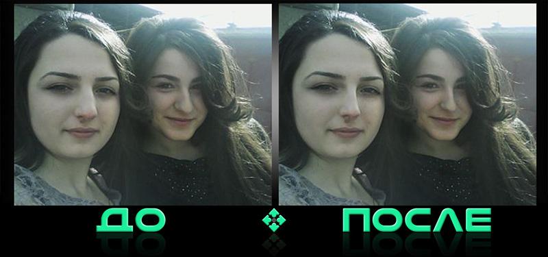 Изменить нос онлайн в редакторе Photo after