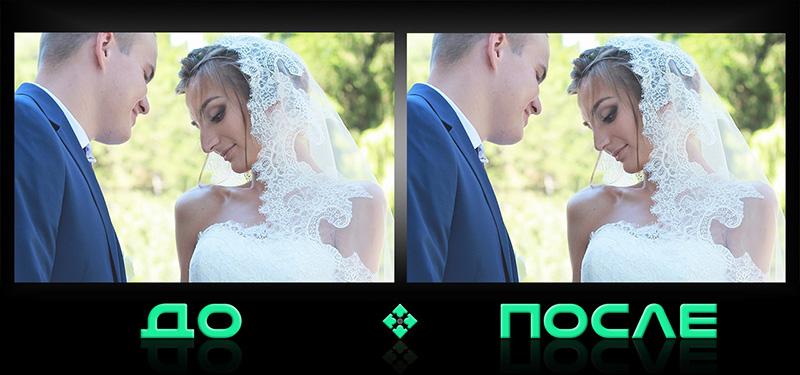 Уменьшение носа в онлайн фотошопе творческой студии