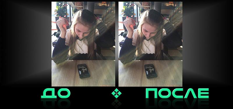 Как уменьшить нос на фотографии в студии Photo after