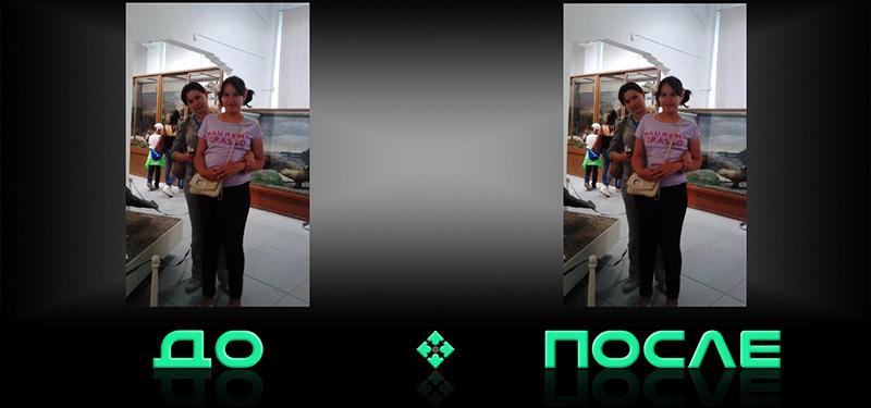 Фотошоп онлайн с эффектом похудения на русском редакторе Photo after