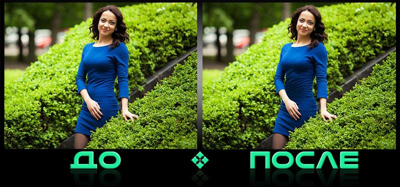 Фотошоп онлайн с эффектом похудения в русском редакторе Photo after