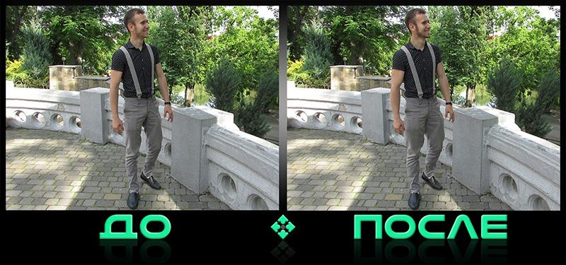 Как увеличить мышцы в фотошопе онлайн редактора изображений