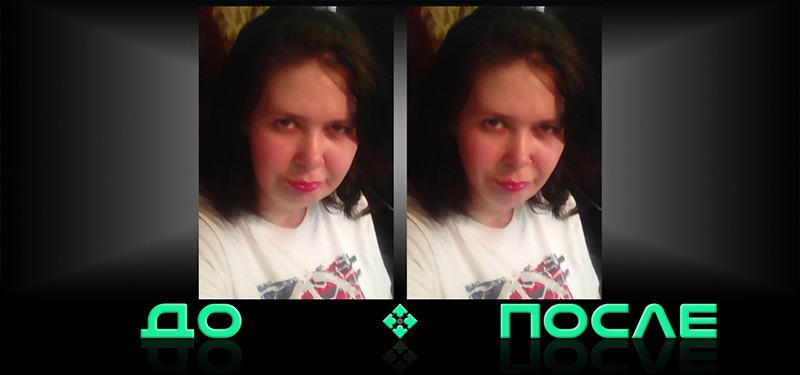 Фотошоп похудение лица в онлайн редакторе изображений