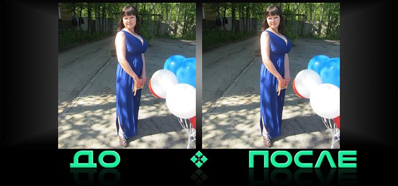 Фотошоп коррекция фигуры онлайн бесплатно в нашем редакторе изображений