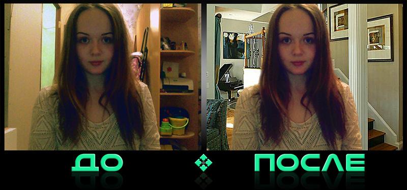 Фотошоп онлайн изменит задний фон в творческой студии