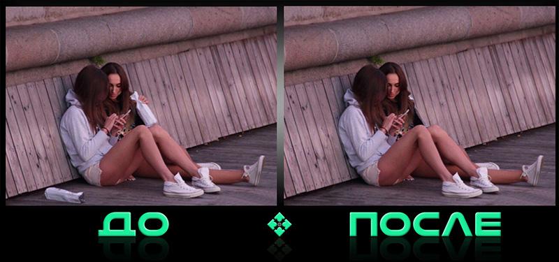 Фотошопнуть ненужные детали в онлайн редакторе изображений