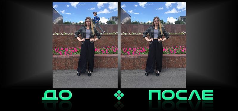 Веселый фотошоп в онлайн редакторе Photo after