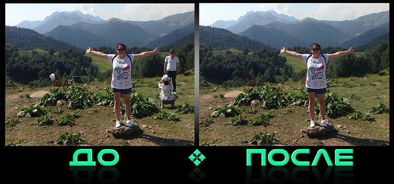 Клевый фотошоп в онлайн редакторе Photo after