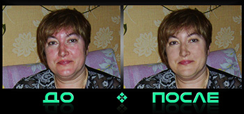 Онлайн фотошопим цвет лица в нашем редакторе изображений