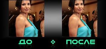 Фотошопнем дефекты кожи в онлайн редакторе изобажений