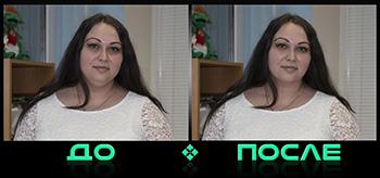 Фотошоп редактирует лицо в онлайн редакторе Photo after