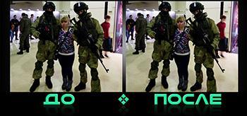 Фотошоп онлайн коррекция фигуры в студии Photo after