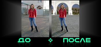 Фотошоп онлайн сменит фон в редакторе изображений