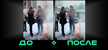 Фотошоп онлайн вставка фона в нашем редакторе