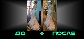 Фотошоп онлайн соединит две фотографии в нашем редакторе изображений