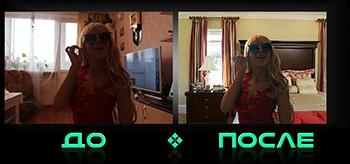 Заменить задний фон фото в онлайн редакторе изображений