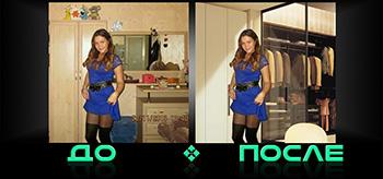 Фотошоп изменение заднего фона в онлайн редакторе изображений